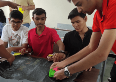 Students activities in St. Mary's junior college