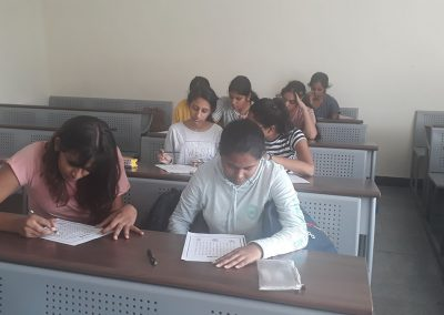 St Mary's junior college mock test to students