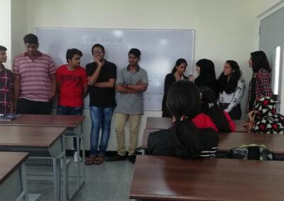 St Mary's junior college classroom activities