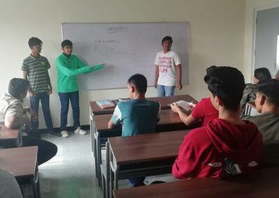 St Mary's junior college Hyderabad campus life
