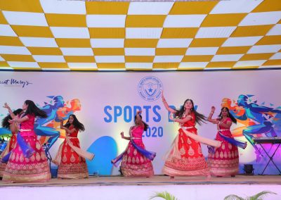 St Mary's junior college Sports day celebrations 2020 dance performance