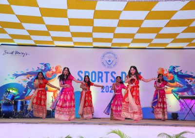 St Mary's junior college Sports day dance performance